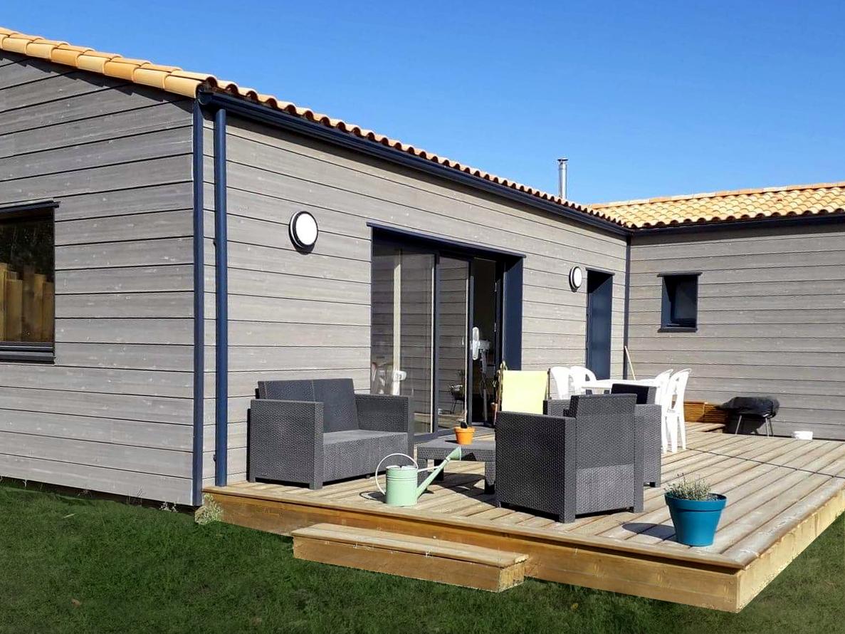 Maison, La Guyonnière, travaux, cenbois, bois, construction, durable